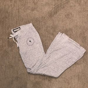 Abercrombie & Fitch wide leg sweatpants